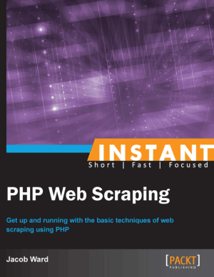 Instant PHP Web Scraping – PDF Books