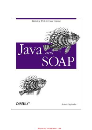 Java and SOAP –, java Tutorial