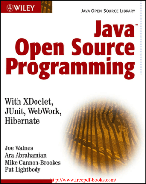 Java Open Source Programming – PDF Books