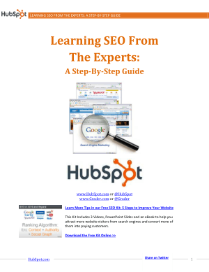 Learning SEO From The Experts A Step By Step Guide – PDF Books