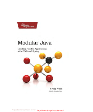 Modular Java – PDF Books