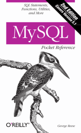 MySQL Pocket Reference 2nd Edition – PDF Books