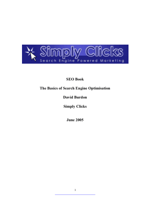 Free Download PDF Books, SEO Book The Basics of Search Engine Optimisation – PDF Books