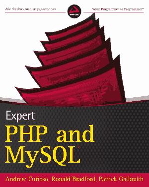Expert PHP and MySQL – PDF Books
