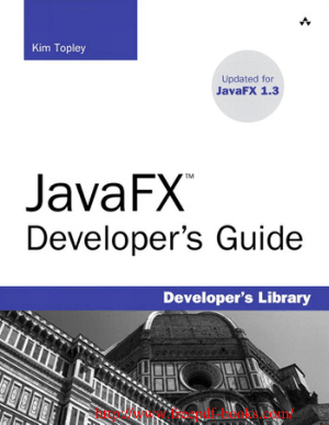 JavaFX Developers Guide – PDF Books
