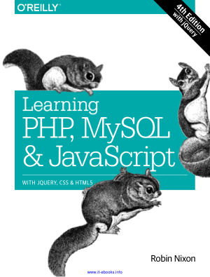 Learning PHP, MySQL and JavaScript 4th Edition – PDF Books