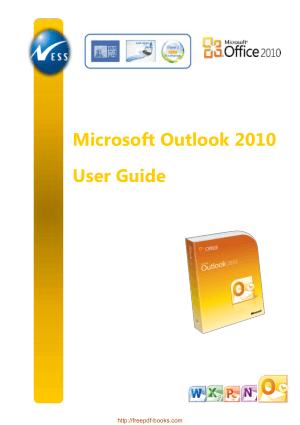 Microsoft Outlook 2010 User Guide