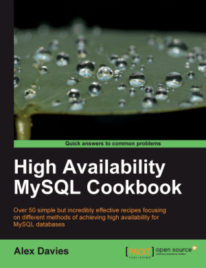 High Availability MySQL Cookbook – PDF Books