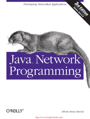 Java Network Programming 3rd Edition – PDF Books
