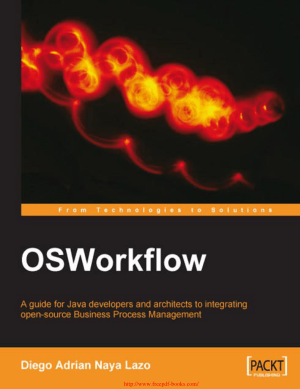 OSWorkflow – A Guide for Java Developers – PDF Books