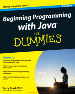Beginning Programming With Java For Dummies 3rd Edition Book