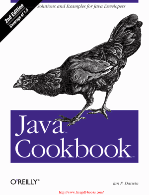 Java Cookbook 2nd Edition – PDF Books