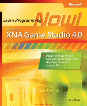 Microsoft XNA Game Studio 4.0 Learn Programming Now! – PDF Books