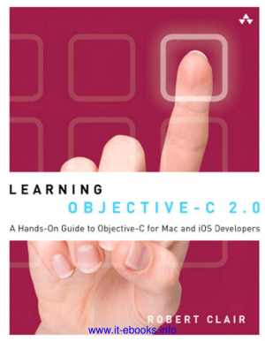 Free Download PDF Books, Learning Objective C 2.0 Book – PDF Books