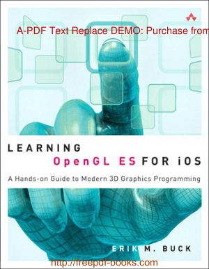 Learning Opengl ES For iOS, Learning Free Tutorial Book