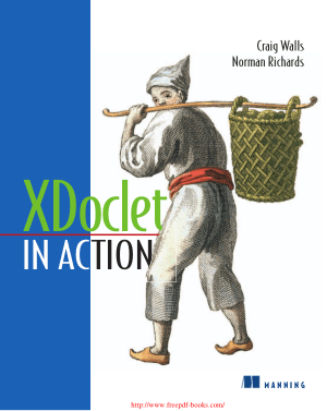 Free Download PDF Books, XDoclet in Action – PDF Books