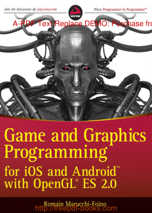 Game And Graphics Programming For iOS And Android With Opengl ES 2, Free Books Online Pdf