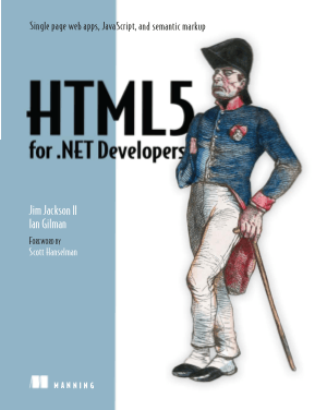 HTML5 for .NET Developers – PDF Books
