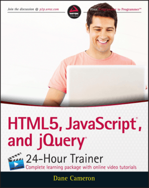HTML5 JavaScript and jQuery 24 Hour Trainer – PDF Books