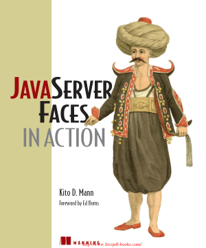 Free Download PDF Books, JavaServer Faces in Action – PDF Books