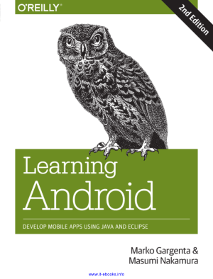 Learning Android 2nd Edition – PDF Books