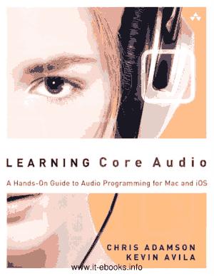 Free Download PDF Books, Learning Core Audio – PDF Books