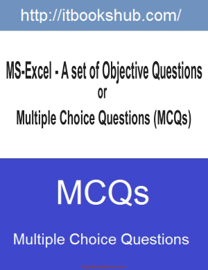 MS Excel A Set Of Objective Multiple Choice Questions MCQs, Excel Formulas Tutorial