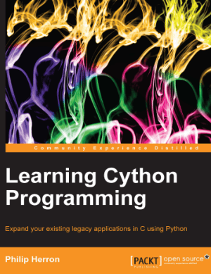 Learning Cython Programming using Python –, Learning Free Tutorial Book