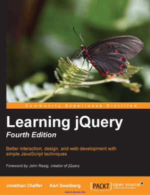 Free Download PDF Books, Learning jQuery  4th Edition –, Learning Free Tutorial Book