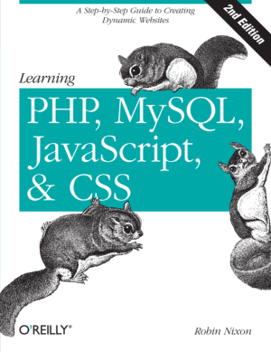 Learning PHP MySQL JavaScript and CSS – PDF Books