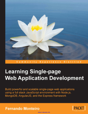 Learning Single-page Web Application Development –, Learning Free Tutorial Book