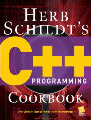 Herb Schildts C++ Programming Cookbook