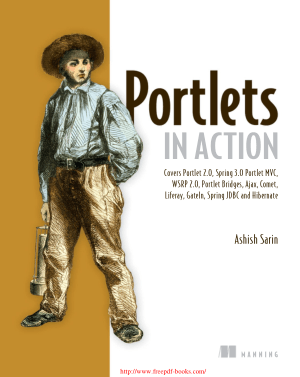 Free Download PDF Books, Portlets in Action – PDF Books
