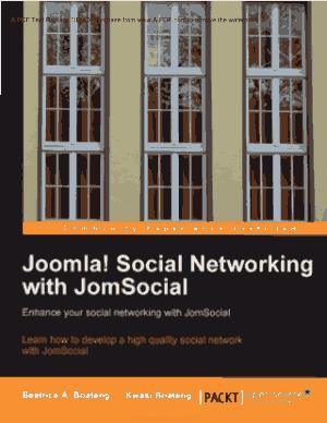 Joomla Social Networking With Jomsocial, Joomla Ecommerce Template Book