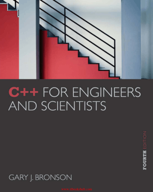 Cpp for Engineers and Scientists 4th Edition – Free PDF Books