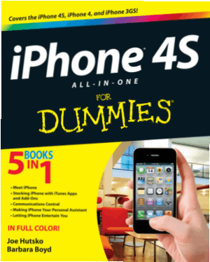 iPhone 4S All In One For Dummies – Free PDF Books