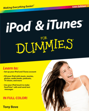 iPOD And Itunes For Dummies 10th Edition Book – Free PDF Books