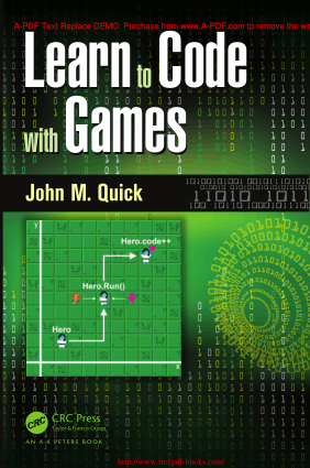 Learn to Code with Games – Free PDF Books