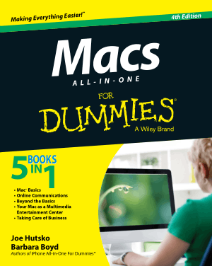 Macs All In One For Dummies 4th Edition Book – Free PDF Books