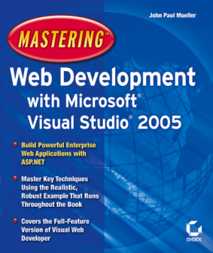 Mastering Web Development With Microsoft Visual Studio 2005 – Free PDF Books