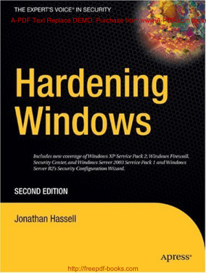 Hardening Windows Second Edition