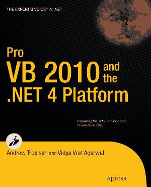 Pro VB 2010 and the .NET 4.0 Platform – Free PDF Books