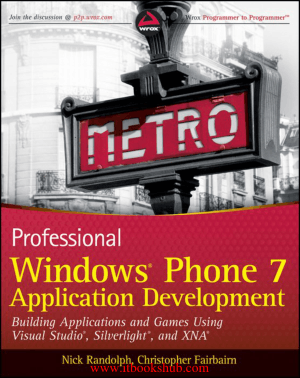 Professional Windows Phone 7 Application Development – Free PDF Books