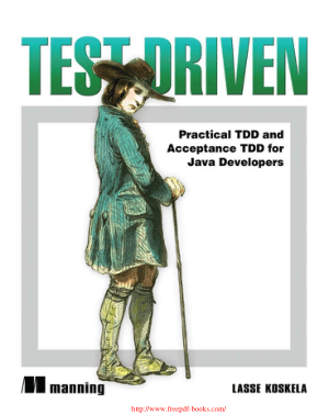 Test Driven – Practical TDD And Acceptance TDD for Java Developers – PDF Books