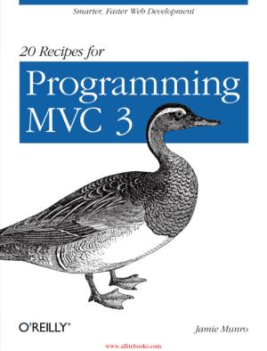 20 Recipes for Programming MVC 3 – Free Pdf Book