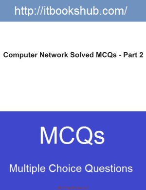 Free Download PDF Books, Computer Network Solved Mcqs Part 2
