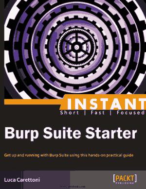 Burp Suite Starter –, Drive Book Pdf