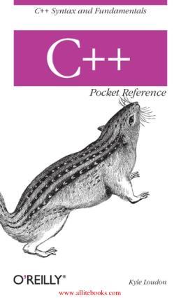 C++ Pocket Reference – Free Pdf Book
