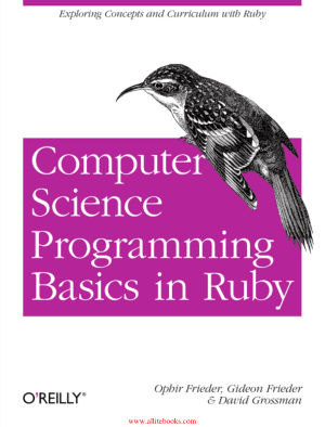 Computer Science Programming Basics in Ruby – Free Pdf Book