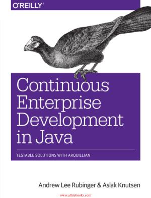 Continuous Enterprise Development in Java – Free Pdf Book